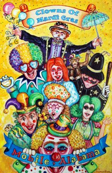 Clowns of Mardi Gras