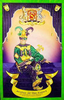 GREAT MASTERS OF MARDI GRAS Print by Jim Wainwright